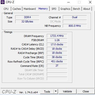 3400MHz 16GB (2x8GB) vs 3200MHz 32GB (4x8GB) optimum
