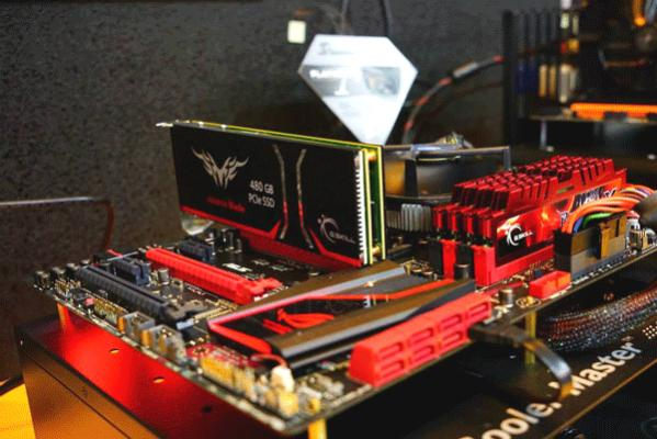 G.Skill Phoenix Blade Series SSD perfectly matching with ASUS ROG