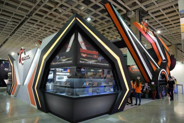 The G.Skill booth @ Computex 2015!